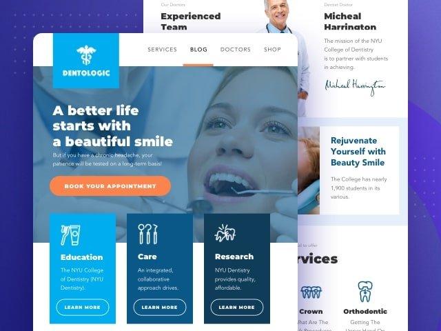 Offerta sito dentista